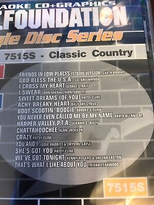 Sound Choice Karaoke Cdg Country Gold 9502 Musical Instruments & Gear