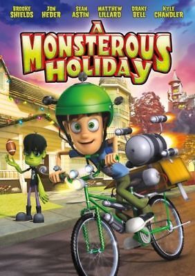 A Monsterous Holiday ( DVD, 2013 ) Brand New Factory Sealed