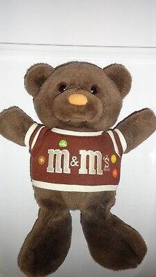 32b5900bfaf VINTAGE 80 S M MS Plush Teddy Bear 15