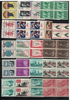 A Nice Selection of 20 All Different 5 Cent  Blocks Of 4. MNH. OG  #02 B20b4a