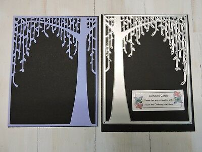 Craft Metal Cutting Die -- Weeping Tree