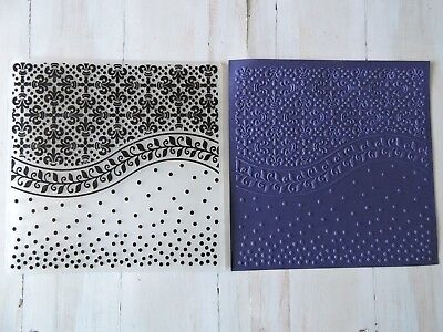 Embossing Folder --  Antique Look