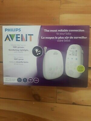 Philips Avent DECT SCD710 Baby Monitor with Temperature Monitoring, Night Light