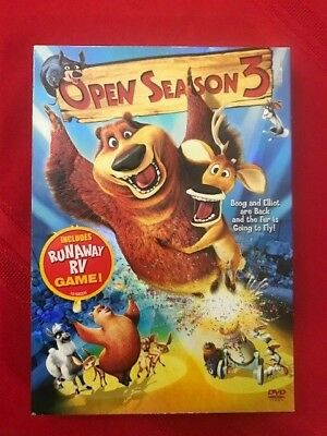 Open Season 3 ~ Brand New Dvd ~ Factory Sealed -Free Fast Shipping!