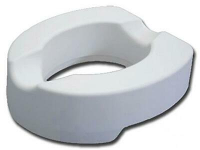 Raised Toilet Seat With Fixing System - Height 14 cm
