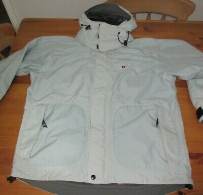 546a019863e24 Womens BERGHAUS JACKET Aquafoil Pro2 Duck Egg Blue Size 14 Hooded Nice Style