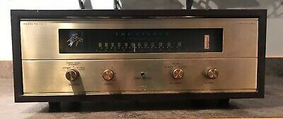 Fisher FM-100B FM Tube Tuner Works Beautiful Cosmetics With Case