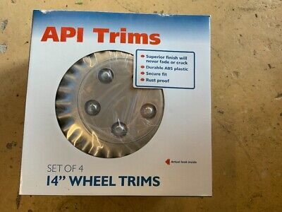 wheel trims 14inch set of 4 over 100 available. 4 PER BOX