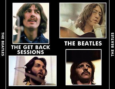 The Beatles - The Get Back Sessions  3-CD Let It Be  All Things Must Pass  MONO!