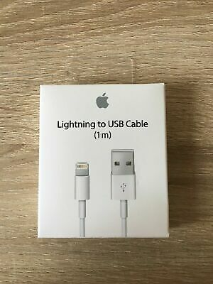 OEM Genuine Apple Lightning USB Charger Lead Cable iPhone 8 7 6 5 X XS Max iPad