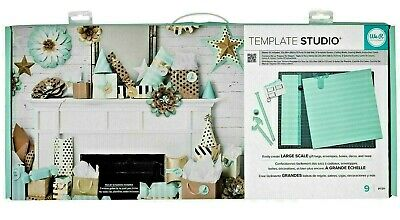 American Crafts We R Memory Keepers Template Studio Board Starter Kit NEW IN BOX