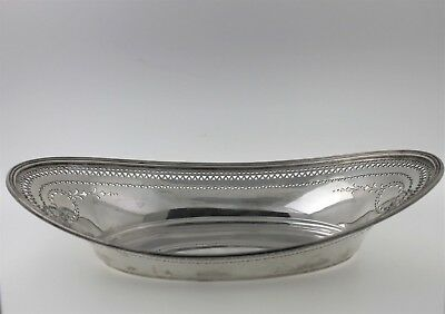 100% Authentic Antique Tiffany & Co. 925-1000 Sterling Silver Oval Tray
