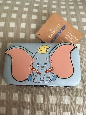 Brand New Primark Disney Dumbo 5 Piece Manicure Set Nail Files And Case