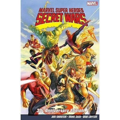 Marvel Super Heroes: Secret Wars 30th Anniversary Edition by Jim Shooter (Paperb