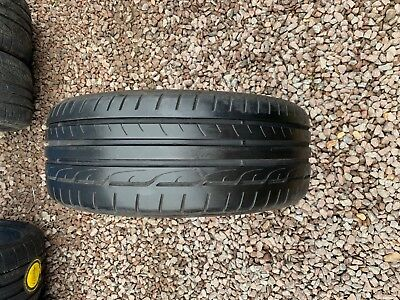 Part Worn Tyres 1x 225/45/19 Summer  Dunlop SpSport Maxx RT Run Flat 92W