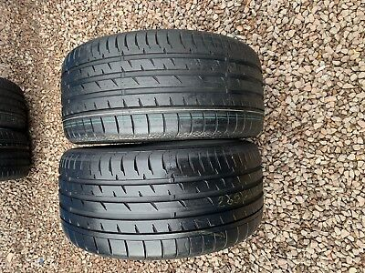 Part Worn Tyre 2x 265/35/19,Summer,Continental ContiSportContact 3* 98Y EL new 1