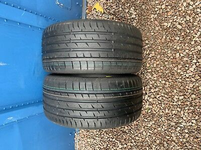 Part Worn Tyre 2x 265/35/19,Summer,Continental ContiSportContact 3* 98Y EL new 2