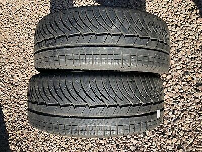 Part Worn Tyre 2x 245/45/18, Winter, Michelin  Pilot Alpin 100V  M+S EL