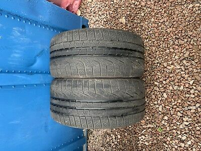 Part Worn Tyre 2x 255/35/19,Winter, Pirelli SottoZero Winter II MO M+S 96V