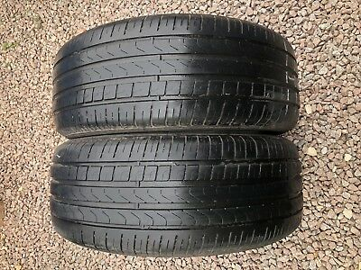 2x Part Worn Tyres 235/55/18, Summer, 2x Pirelli Scorpion Verde  100Y