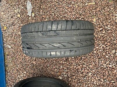 Part Worn Tyres 1x 225/40/18 Summer  Bridgestone Potenza RE050A  MO 97Y