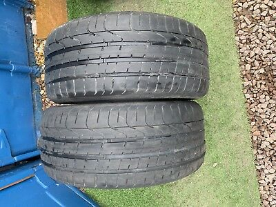 Part Worn Tyre 2x 245/40/19,Summer, Pirelli P Zero 96W