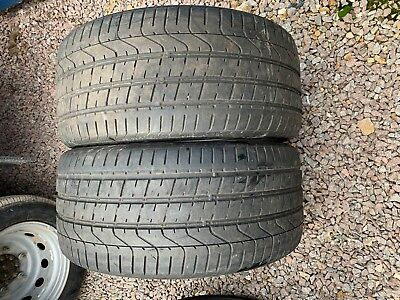 Part Worn Tyres 2x 275/35/20 Summer 2x Pirelli P Zero EL