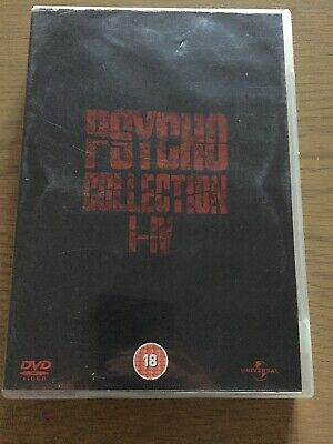 Psycho Collection - Psycho 1-4 (DVD,4-Disc Box Set)Rare-Free P&P-FINAL REDUCTION