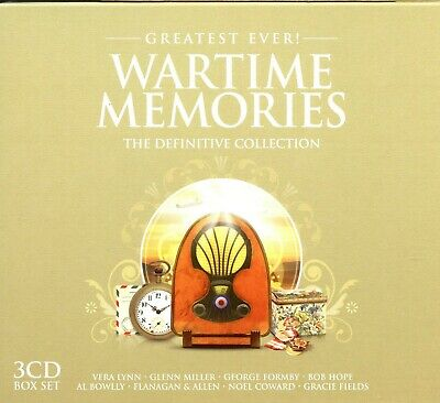The Greatest Ever Wartime Memories - The Definitive Collection - 3CD - MINT