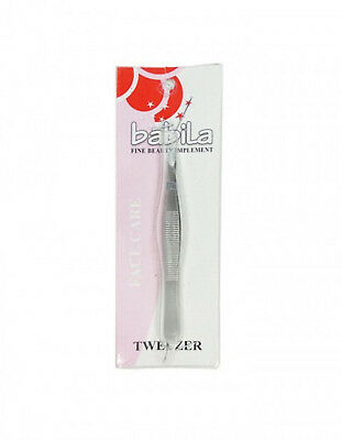 Babila Tweezer Square Tip ( PLUKKER ) In Stailness Steal with Matte finishing