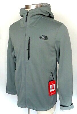 $120 The North Face Men's Wakerly Hoodie Fleece Jacket size L gray NWT