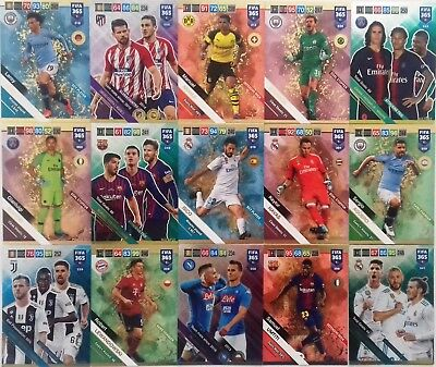 Panini Adrenalyn Xl Fifa 365 2019 - Power Up & Multiple Cards