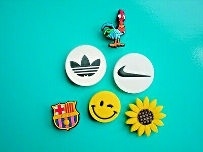 Garden Clog Shoe Charm Button For Accessories Sun Flower For Wristband
