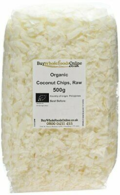 Buy Whole Foods Organic Coconut Chips Raw 500 g