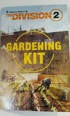 The Division 2 Gardening Kit.Ultra Collector !!!