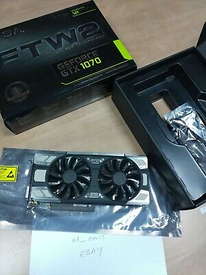 EVGA GeForce GTX 1070 FTW ACX3  GAMING 8GB - USED Mint condition with warranty