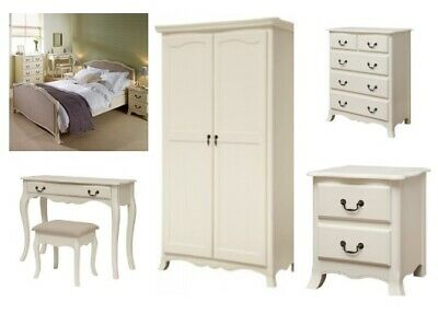 Chantilly Antique White French Style Bedroom Collection