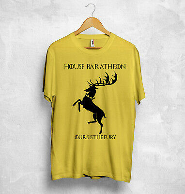 House Baratheon T Shirt Game Of Thrones Jon Snow House Stark Targaryen Lannister