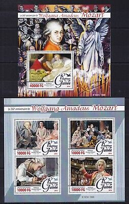 Niger2015 Georg Friedrich Haendel Handel Composer Classical Music Stamps Mnh Bs Music