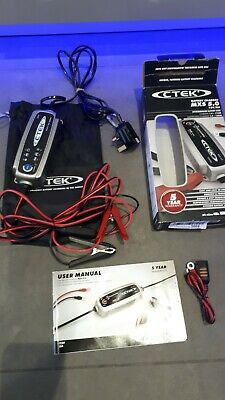 CTEK MXS 5.0 Trickle Battery Charger, Car Motorbike, Caravan Battery inc VAT