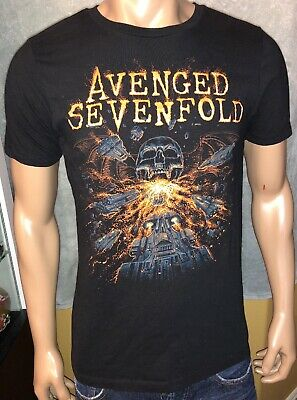 Avenged Sevenfold FIRE BREATHING DEATHBAT T-Shirt NWT Authentic /& Licensed