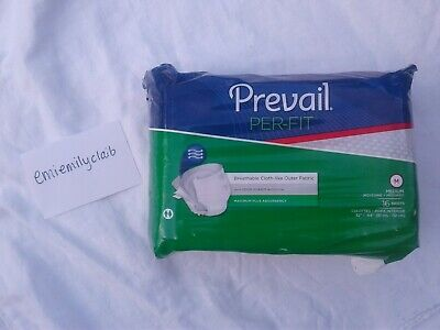 Prevail Per-Fit Maximum Absorbency Adult Briefs Size Medium Case of 96