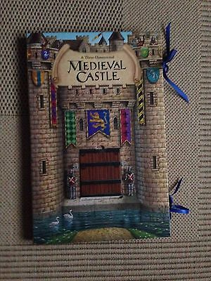 *VERY RARE* Medieval Castle: A Carousel Pop-up Book (Pop Up) WILSON, PHIL