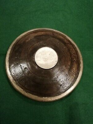 Vintage Wood & Brass Athletics Discus salvage hunters drew Pritchard