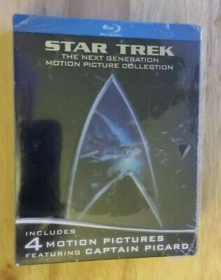 Star Trek: The Next Generation Motion Picture Collection [Blu-ray] - NEW !