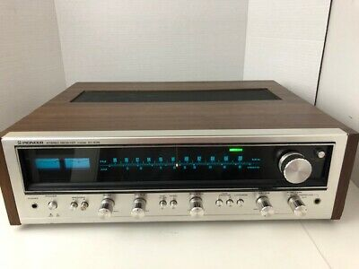 PIONEER MODEL SX-636 Stereo Receiver Working - Made in Japan