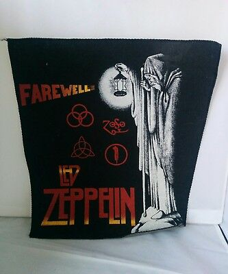 Led Zeppelin Farewell Vintage Patch
