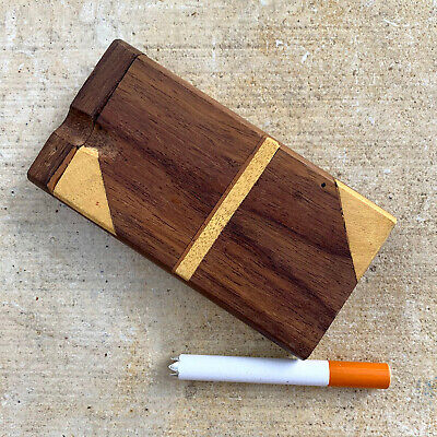 "Swivel Top Wood Dugout One Hitter With 4"" Spiked Bat"