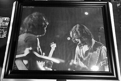 allman brothers band poster Jerry Garcia & Dickey Betts