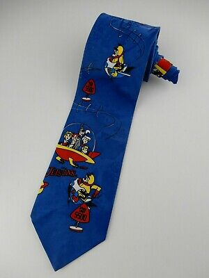 Hanna Barbera Speed Limit The Jetsons Tie Necktie 1995 Novelty Tie